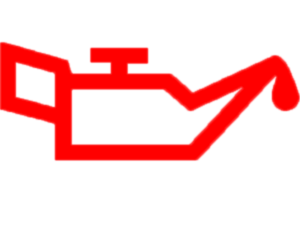 Die rote Kontrolleuchte