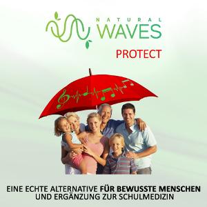 NaturalWaves-Protect - Gerade in der heutigen Zeit mit ihren Irrungen und Verwirrungen als auch die vielen intensiven nicht-biogene oder pathogene Schwingungsmuster technischen Ursprungs, ein absolutes MUSS für jeden Menschen!