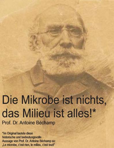 Mikrobiologe und Arzt Prof. Dr. Antoine Béchamp